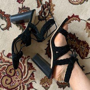 BCBG Black Heels (SIZE 9)